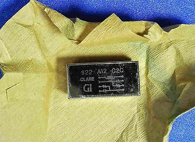 Reed Relay 12V DPDT by Clare 922A12C2C in Sealed Military Packaging