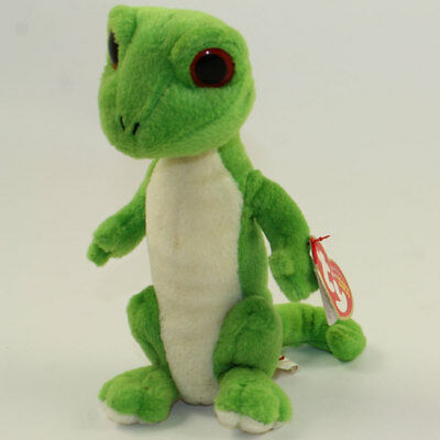 TY GUS THE GECKO BEANIE BABY - RED EYES - MINT with MINT TAGS ... 8bfd8c924354