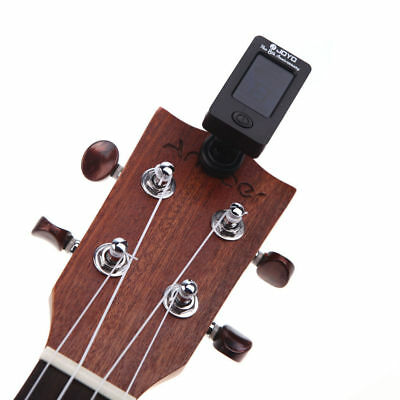 Clip-On Digital LCD OUD Tuner Chromatic Electric Guitar, Bass, & All Instrument