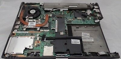 HP EliteBook 6930P Motherboard/Mainboard with bottom case, WORKING UNIT