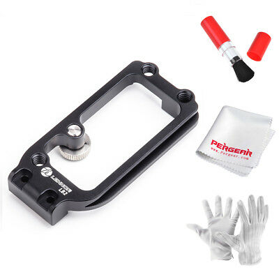 Lennon Gecco LB2 side plate Black  For Sony a7II a7RII a7RIII a7SII+Gloves