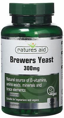 Natures Aid Brewers Yeast - 300mg 500 Tabs