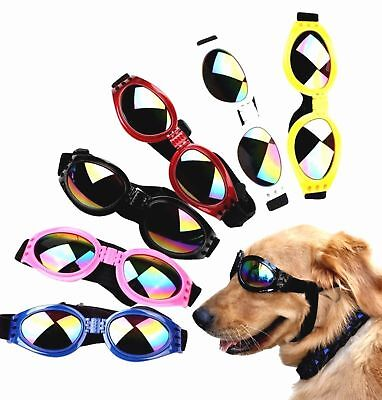 Adjustable Pet Dog UV Sunglasses Sun Glasses Goggles Eye Wear For Puppy Summer