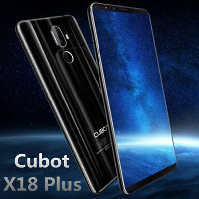 Cubot X18 Plus 5.99'' 18:9 2160*1080 OctaCore 64GB 20MP Android8.0 4G Smartphone
