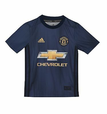 Manchester United FC Official Football Gift Boys Third Away Kit Shirt 2018 2019