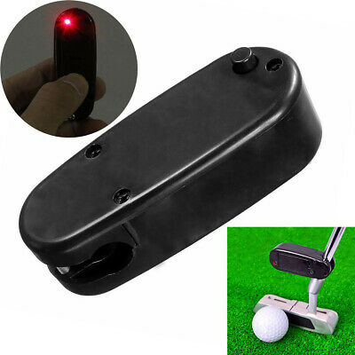 Black Golf Putter IR Putter Pointer Putting Practice Aid Training Tool New