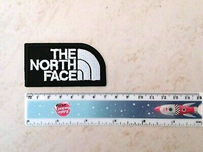 THE NORTH FACE  Iron/Sew-on Patch/Badge  White and Black