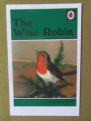 Puffin Book Postcard The Wise Robin 1950 Christmas childrens books