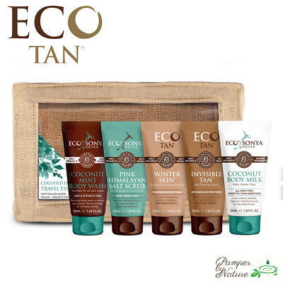 Eco Tan Travel Essentials Pack 5 x 50ml - LIMITED EDITION + FREE SHIPPING!!