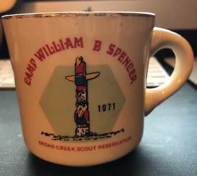 1971 Camp William B Spencer Broad Creek Scout Reservation Cup