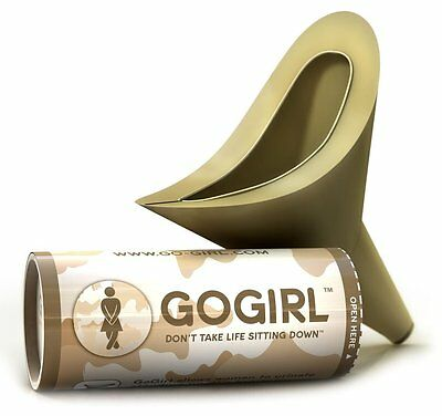Lewis N Clark Go Girl Female Urination Device Camo GGCK