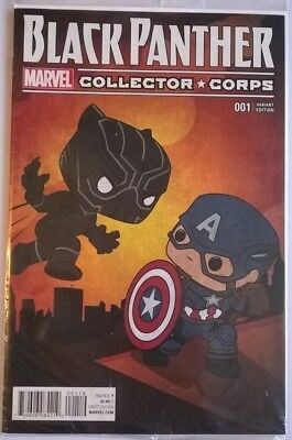 Black Panther #1, Collector Corps, Funko POP. Variant edition. New, VFN/NM.
