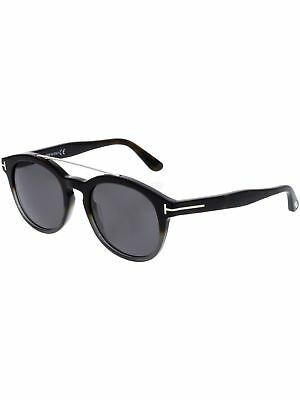 TOM FORD NEWMAN FT0515-56A-53 Brown Oval Sunglasses -  200.99   PicClick 30738c6f3df8