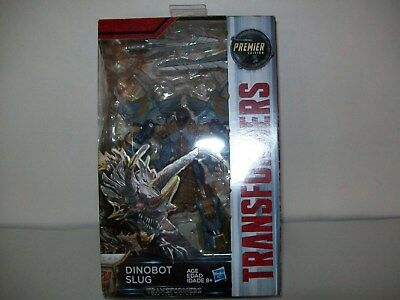 Transformers The Last Knight Deluxe Premier Edition Dinobot Slug New