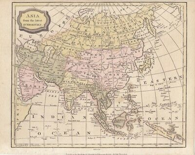 Asia from the lates Authorities, China, Tibet, Hindoostan, Turky, Persia, Sumatr