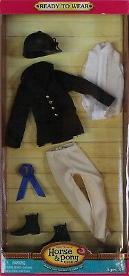 NEW Only Hearts Club Ready to Wear Black English Riding Outfit 3202