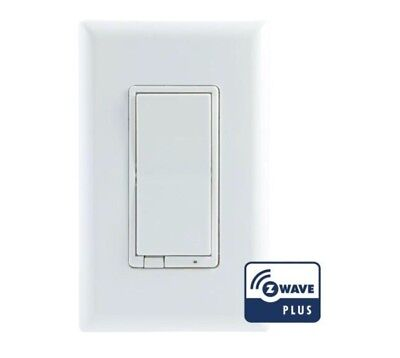 GE Z-Wave Plus Wireless Smart Lighting Control Switch, On/Off, In-Wall, 14291
