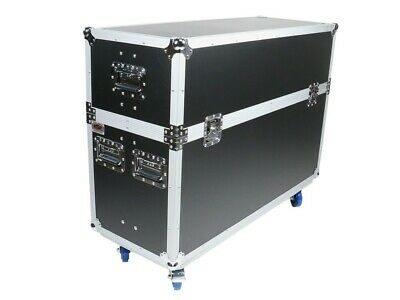 """OSP ATA FLIGHT ROAD TOUR CASE for TWO 55"""" LED TV TELEVISION SCREENS MONITORS"""