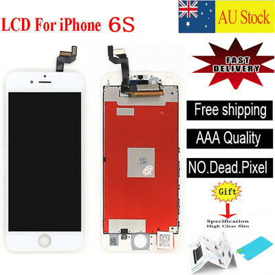 For iPhone 6S 4.7''LCD White Display Touch Screen Digitizer Assembly Replacement