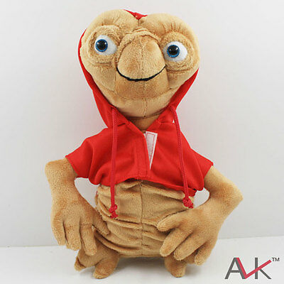New Red E.T. The Extra Terrestrial Soft plush stuffed Doll Toy 25cm 10""