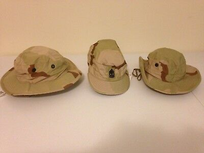 Dealers Lot US Army DCU Desert Camouflage Boonie Floppy Patrol Hat cap 7 1/4 new