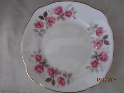 Vintage - ''duchess''  - ''silver Rose'' Bread / Cake Plate