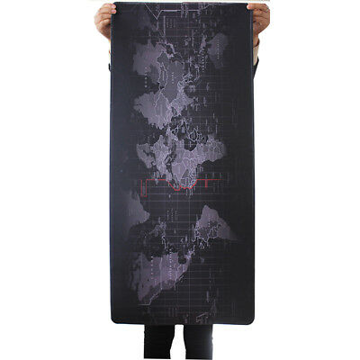 Mat Laptop Size Large Extended 90cm*40cm World Pad Pc Mouse Computer Map Gaming