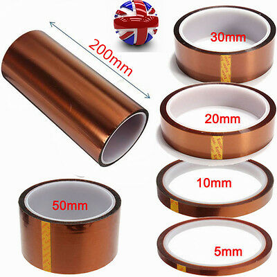 33m Kapton Tape High Temperature Heat Resistant Polyimide BGA PCB Tool Home