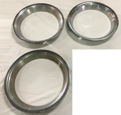"""Genuine 3 Ford Wheel Trim Rings 14"""" To Fit Xw Xy Gt Gs  Wheels"""