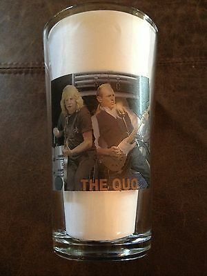 STATUS QUO Francis Rossi & Rick Parfitt PINT SIZE BEER GLASS