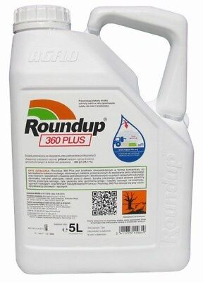 Roundup 360 Plus 5L Glifosat x 2 stucke