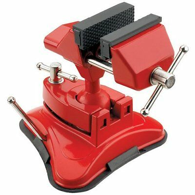 Table top Bench Hobby mini vice CLARKE ENGINEERS RUBBER JAWED SUCTION BASE 70mm