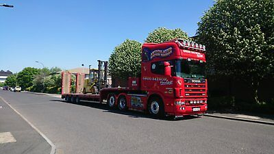 Lowloader Transport Anywhere in UK Advertisment business card