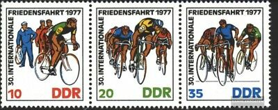 DDR WZd346 (complete.issue) used 1977 Peace Race