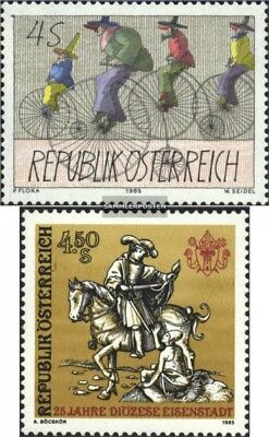 Austria 1829,1830 (complete issue) used 1985 special stamps