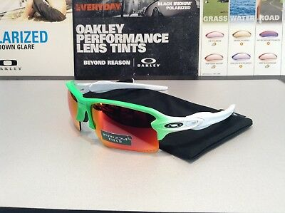 107bbb1eb49 OAKLEY FLAK 2.0 XL Green Fade Collection w  Prizm Field - SKU  9188 ...