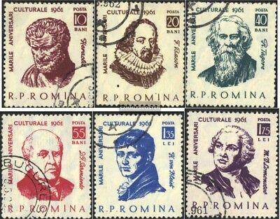 Romania 2003-2008 (complete issue) used 1961 Personalities