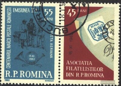 Romania 2116 with zierfeld (complete issue) used 1962 100 years