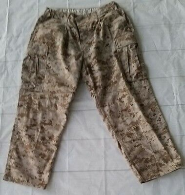 Military Army Pants Digital Desert Camo Mil-Spec Large Long