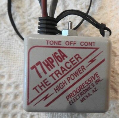 77HP/6A The Tracer Progressive Electronics  with 77-C Leather Holder