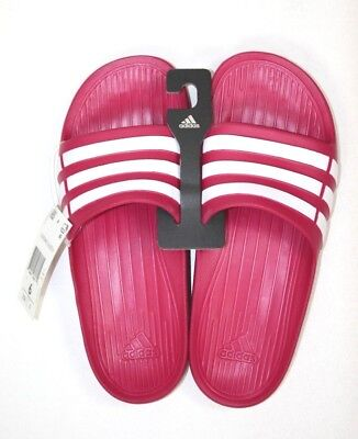 Adidas Duramo Slide K Pink White womens or mens Sports Sandals G06797 size 6 4251bc42a0