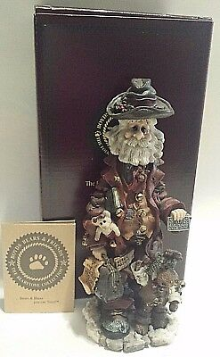 """Boyds Bears And Friends """"execunick The First Global Business Man"""" Figurine"""
