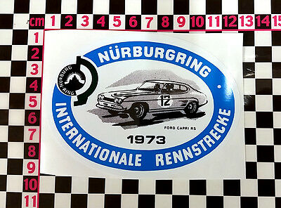German Race Sticker for a Ford Capri 3.0 2.0 S MK1 RS3100 3000GT Facelift