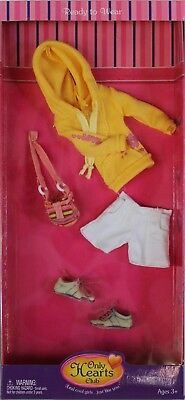 Only Hearts Club Ready to Wear Yellow Fashion Outfit 224 Hoodie Shoes Shorts Bag