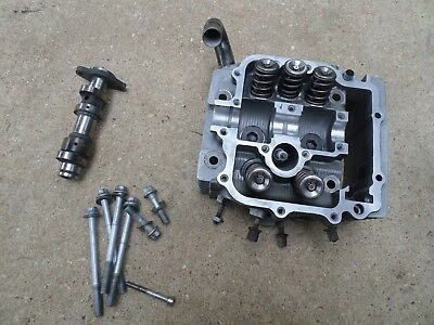 Yamaha Raptor 660 cylinder head W hot cams stage 2 cam & springs PERFECT journal