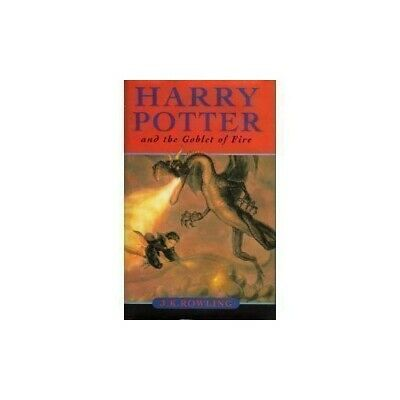 Harry Potter and the Goblet of Fire by Rowling, J. K. Hardback Book The Cheap