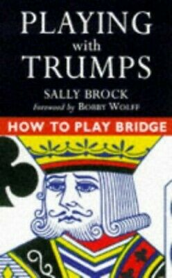 PLAYING WITH TRUMPS (How to play bridge) Paperback Book The Cheap Fast Free Post