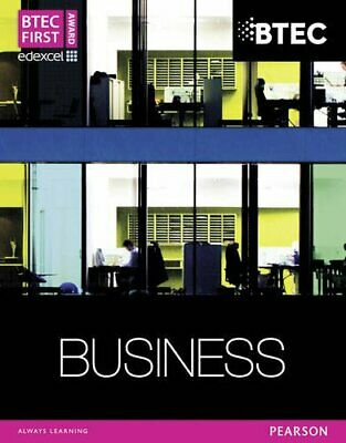 BTEC First Business Award Student Book by Chandler-Corris, Ms Lisa Book The