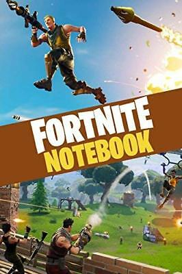 FORTNITE Notebook: Over 100 pages for by 8mm Notch Publishing New Paperback Book