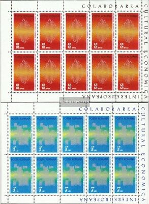 Romania 2919-2920 Sheetlet (complete issue) unmounted mint / never hinged 1971 I